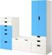 Комплект мебели Ikea Стува 490.176.31 -