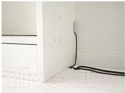 Письменный стол Ikea Хемнэс 290.005.04 (белая морилка)