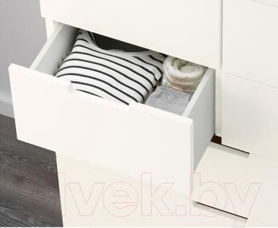 Комод Ikea Нордли 490.212.04 (белый)