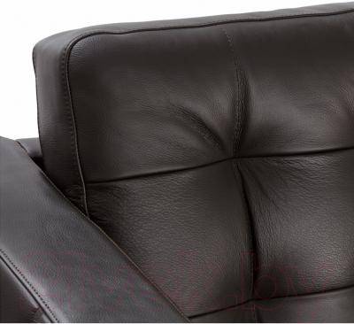 Диван Ikea Ландскруна 490.317.50 (темно-коричневый/металл)