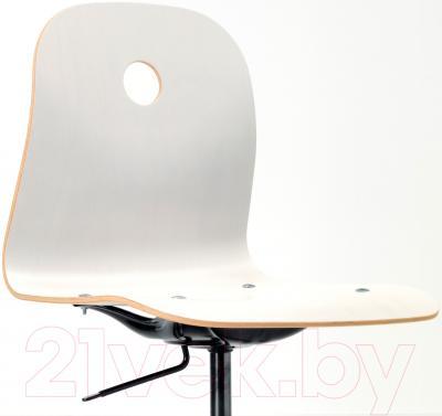 Стул офисный Ikea Вогсберг/Споррен 290.066.81 (белый/черный) - вид спереди