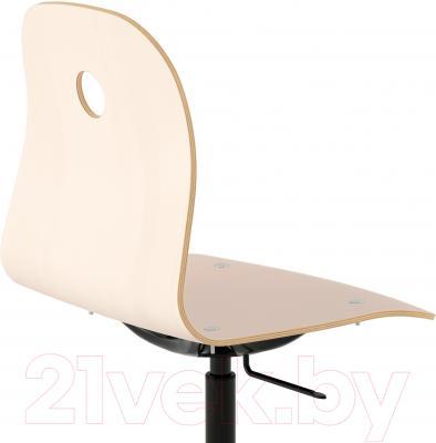 Стул офисный Ikea Вогсберг/Споррен 290.066.81 (белый/черный) - вид сзади