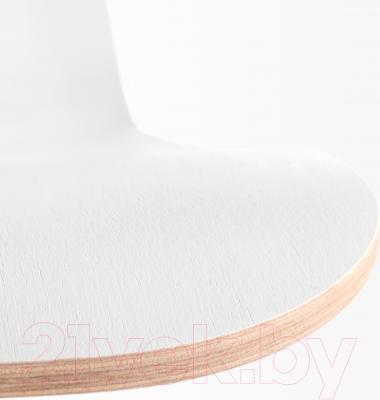 Стул офисный Ikea Вогсберг/Споррен 290.066.81 (белый/черный) - сиденье из фанеры