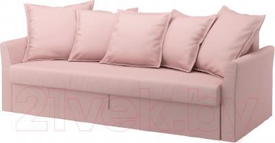 Диван-кровать Ikea Хольмсунд 490.486.56 (Ранста светло-розовый)