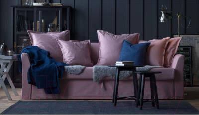 Диван-кровать Ikea Хольмсунд 490.486.56 (Ранста светло-розовый) - в интерьере