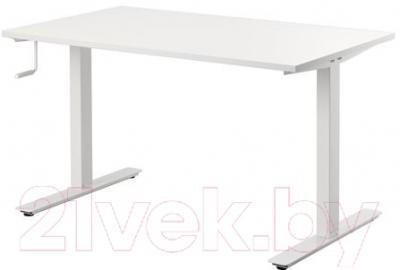 Письменный стол Ikea Скарста 490.849.65 (белый)