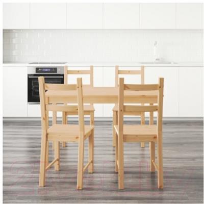 Обеденная группа Ikea Ингу / Ивар 490.973.50 (сосна)