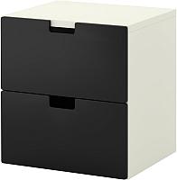Комод Ikea Стува 490.990.66 (черный) -