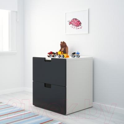Комод Ikea Стува 490.990.66 (черный)