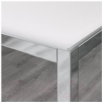 Обеденный стол Ikea Торсби 490.996.22 (белый) - Инструкция по сборке