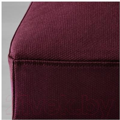 Стул Ikea Хенриксдаль 491.000.41 (дуб/красно-сиреневый)