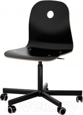 Стул офисный Ikea Вогсберг/Споррен 290.066.95 (черный)