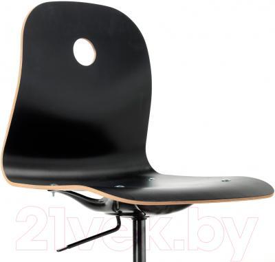 Стул офисный Ikea Вогсберг/Споррен 290.066.95 (черный) - вид спереди