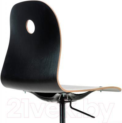 Стул офисный Ikea Вогсберг/Споррен 290.066.95 (черный) - вид сзади