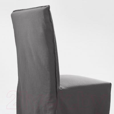 Стул Ikea Хенриксдаль 491.224.58 (коричнево-черный/серый)