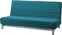 Диван-кровать Ikea Бединге Левос (Книса бирюзовый) -