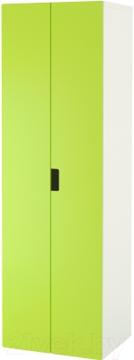 Шкаф Ikea Стува 491.335.55 (белый/зеленый)