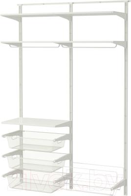 Система хранения Ikea Альгот 491.651.41