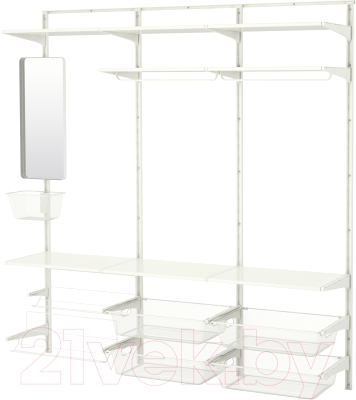 Система хранения Ikea Альгот 491.652.35