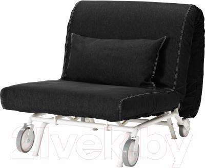 Кресло-кровать Ikea Икеа/Пс Левос 498.743.83 (черный)