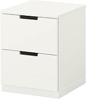 Прикроватная тумба Ikea Нордли 290.210.97 (белый) -
