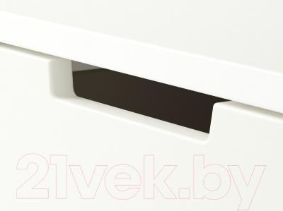 Прикроватная тумба Ikea Нордли 290.210.97 (белый)