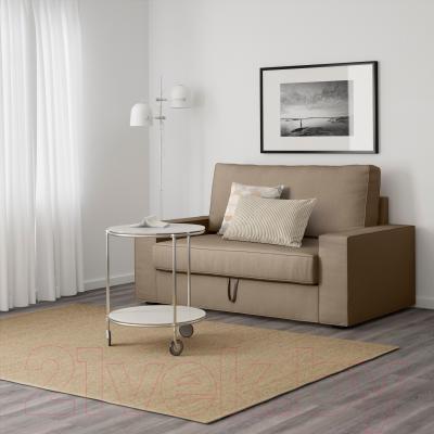 Диван-кровать Ikea Виласунд 499.072.13 (бежевый) - в интерьере