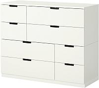 Комод Ikea Нордли 290.212.76 (белый) -