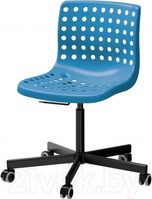Стул офисный Ikea Сколберг/Споррен 590.236.03 (синий/черный)