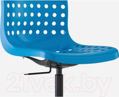 Стул офисный Ikea Сколберг/Споррен 590.236.03 (синий/черный) - вид спереди