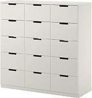 Комод Ikea Нордли 590.272.53 (белый) -