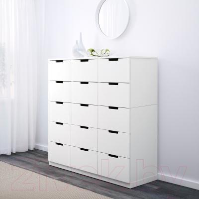 Комод Ikea Нордли 590.272.53 (белый)