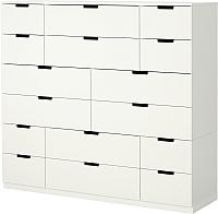 Комод Ikea Нордли 290.213.42 (белый) -