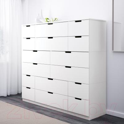 Комод Ikea Нордли 290.213.42 (белый)
