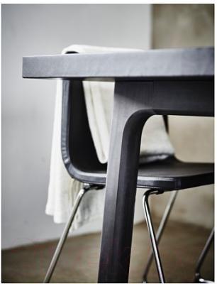 Обеденный стол Ikea Вэстанби 590.403.44 (темно-коричневый)