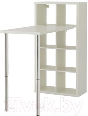Письменный стол Ikea Каллакс 590.465.53 (белый)