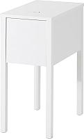 Прикроватная тумба Ikea Нордли 590.947.37 (с беспроводной зарядкой) -