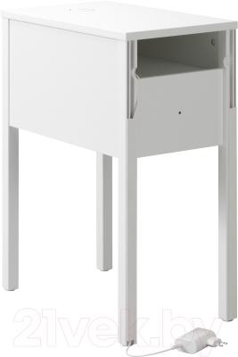 Прикроватная тумба Ikea Нордли 590.947.37 (с беспроводной зарядкой)