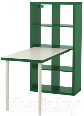 Письменный стол Ikea Каллакс 591.230.42 (белый/зеленый)