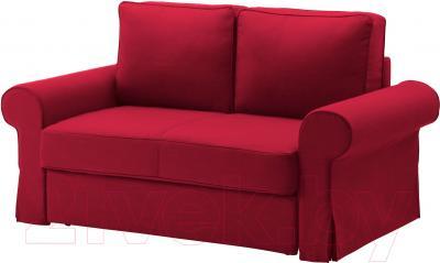 Диван-кровать Ikea Баккабру 591.336.49 (Нордвалла красный)
