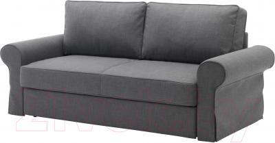 Диван-кровать Ikea Баккабру 591.341.11 (Нордвалла темно-серый)
