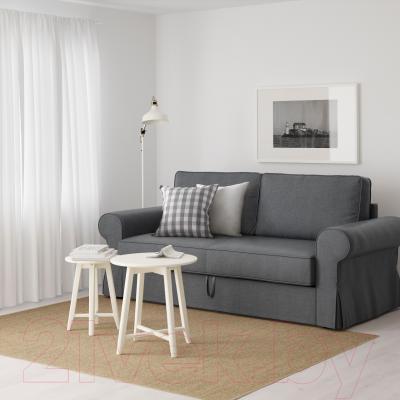 Диван-кровать Ikea Баккабру 591.341.11 (Нордвалла темно-серый) - в интерьере