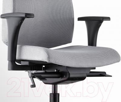 Кресло офисное Ikea Вольмар 591.380.67 (серый) - вид спереди