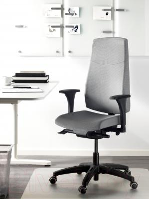 Кресло офисное Ikea Вольмар 591.380.67 (серый) - в интерьере