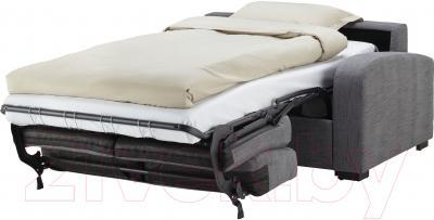 Диван-кровать Ikea Ингельстад/Лэннэс 591.669.94 (Хенста серый) - в разложенном виде