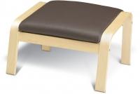 Банкетка Ikea Поэнг 598.291.11 (березовый шпон/темно-коричневый) -