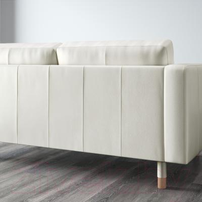 Диван Ikea Ландскруна 290.317.70 (белый/дерево) - вид сзади