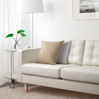 Диван Ikea Ландскруна 290.317.70 (белый/дерево) - в интерьере