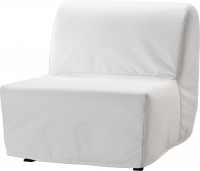 Кресло-кровать Ikea Ликселе Ховет 598.400.76 (белый) -