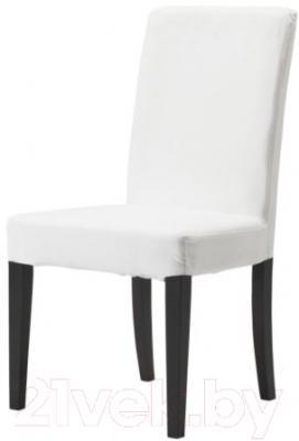 Стул Ikea Хенриксдаль 598.478.17 (коричнево-черный/белый)